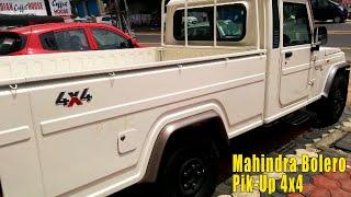 2019 New Mahindra Bolero Pickup Truck 4 wheel drive, Price 6.65 lakhs, Mileage 13 Kmpl