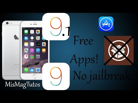 Get paid apps for free on iOS 9-9.1 without Jailbreak