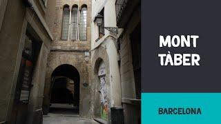 Mont Tàber, el punto más alto de la antigua colonia romana de Barcelona