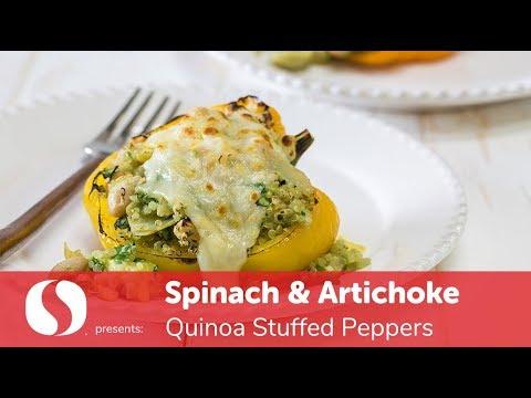 Spinach & Artichoke Quinoa Stuffed Peppers | New Year Recipes | Safeway