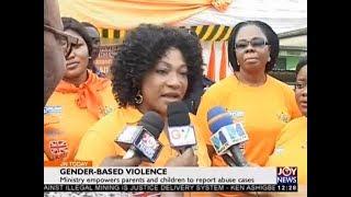 Gender-Based Violence - Joy News Today (11-12-17)