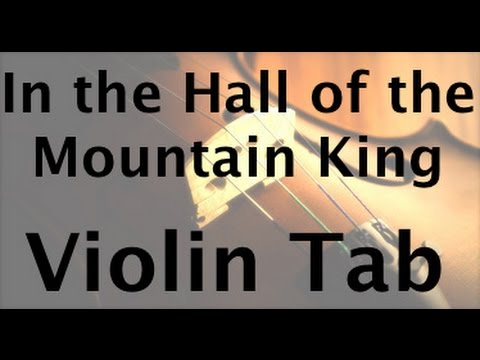 In the Hall of the Mountain King on the Violin (Slow Version)
