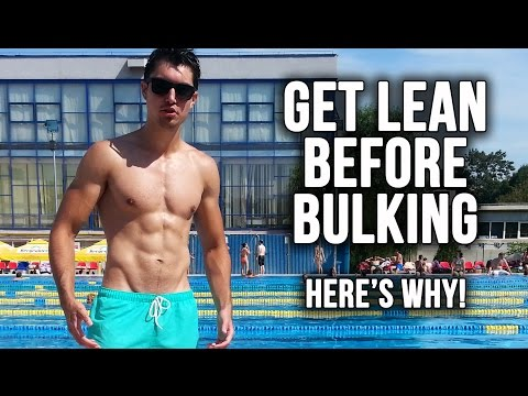 Get Lean Before Bulking for Better Gains and Aesthetics