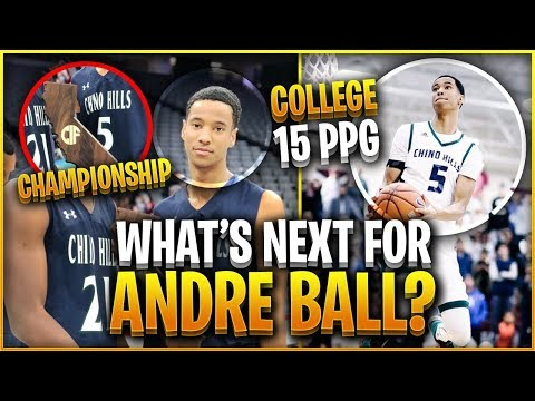 How ANDRE BALL Became A TOP Prospect After The BALL BROTHERS Left Chino Hills!