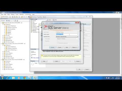 SQL Server Database Mirroring with Simple Steps (Video)