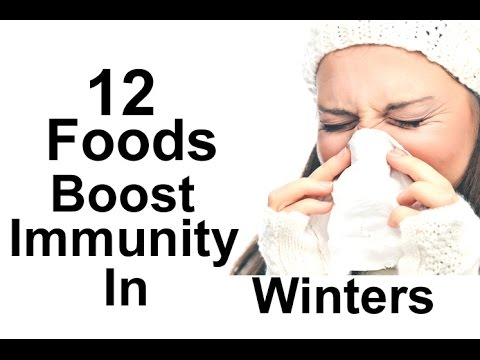 12 Natural Foods Boost Immunity In Winters - Natural Ways Boost Immune System
