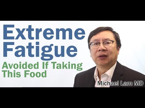 Extreme fatigue after eating avoided if taking this food