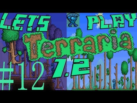 Terraria 1.2 Blind Lets Play Part 12!: A PYRAMID, FLYING CARPET AND TREASURE!!