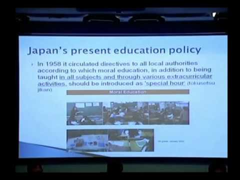 Moral Education against Corruption in Thailand by Dr. Virachai Techavijit (Part 2 of 2)
