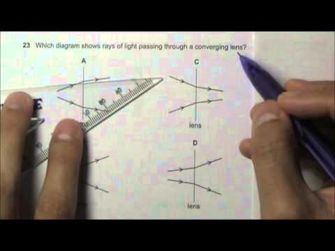 2011 O' Level Physics 5058 Paper 1 Solution Qn 21 to 25