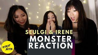 Red Velvet - IRENE & SEULGI 'Monster' MV Reaction | The First Bite