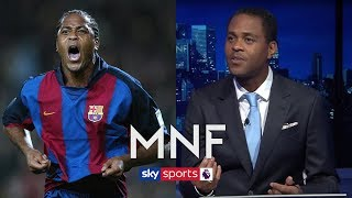 Who was the best player Patrick Kluivert played with at FC Barcelona? | MNF