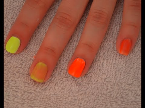 Quick Tip: Making Neon Nail Polishes POP!
