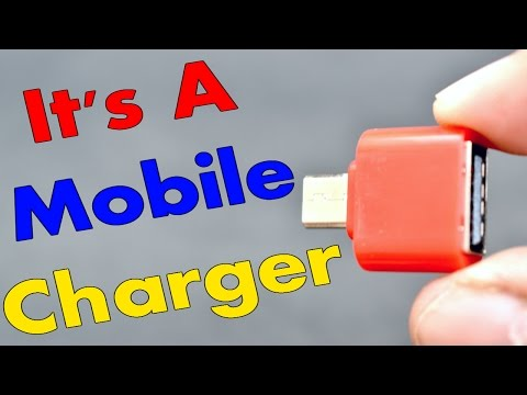 It's A Mobile Charger (Simple Trick)