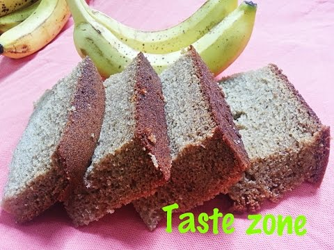 Banana cake without oven