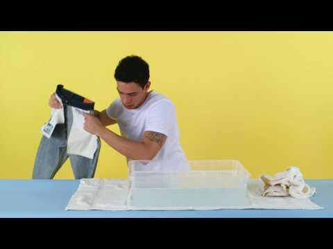 How to wash raw denim | ASOS Menswear fashion tutorial