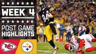 Chiefs vs. Steelers | NFL Week 4 Game Highlights