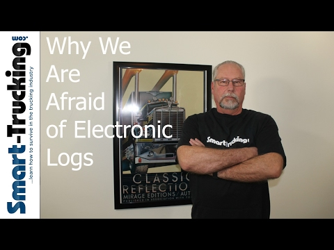 Electronic Logs: What Truckers Are Really Afraid Of