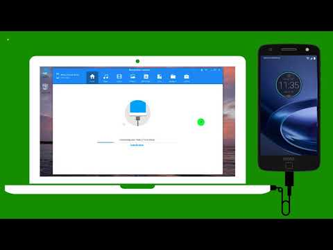 How to Sync iTunes Music Library to Moto Z Force Droid ?