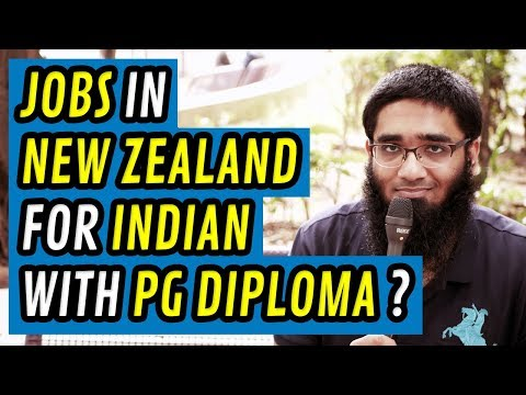 Job Oppurtunities in New Zealand for Indians with Graduate Diploma in Networking (Level 7) ? [4K]