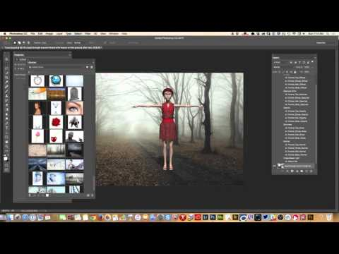 How to Use Adobe Fuse 3D Generated Characters in Photoshop CC
