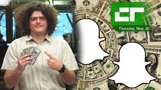 Snapchat Raises 1.8 Billion Dollars | Crunch Report