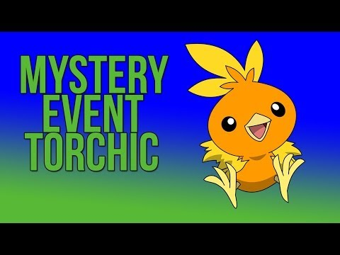Pokemon X and Y Mystery Event How To Get Torchic