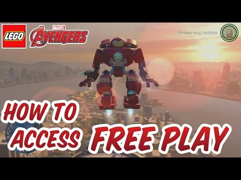 Lego Marvel's Avengers - How to Access Free Play in Hub Areas