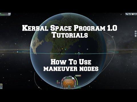 Kerbal Space Program 1.0: How Use Maneuver nodes