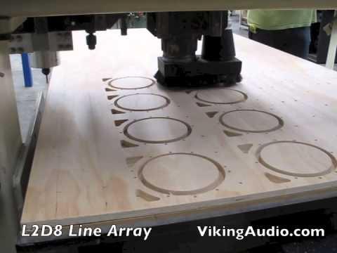 Viking Audio L2D8 Line Array Loudspeaker System