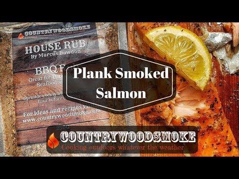 Plank Smoked Salmon on the Traeger Bronson