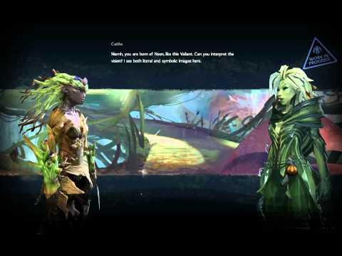 Guild Wars 2 Sylvari Ranger Gameplay HD