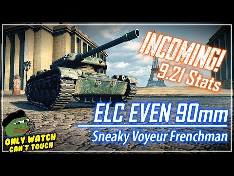 INCOMING! ELC EVEN 90mm Stats || World of Tanks
