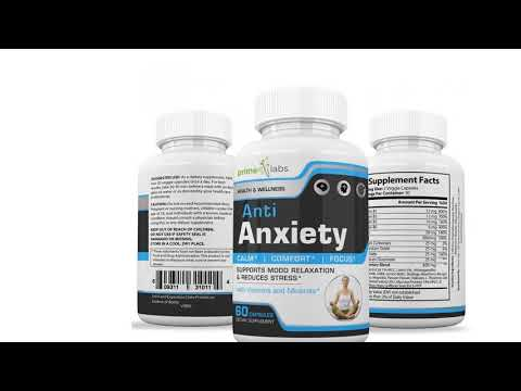 Anti Anxiety Stress Support Supplement to Increase Energy, Mental Focus, Memory