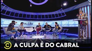 A Culpa é do Cabral - Falcão - Coletiva de imprensa