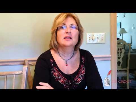 Sir Grout Video Testimonial: Marie