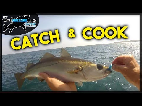 Catch and Cook Fresh Fish on the BEACH!