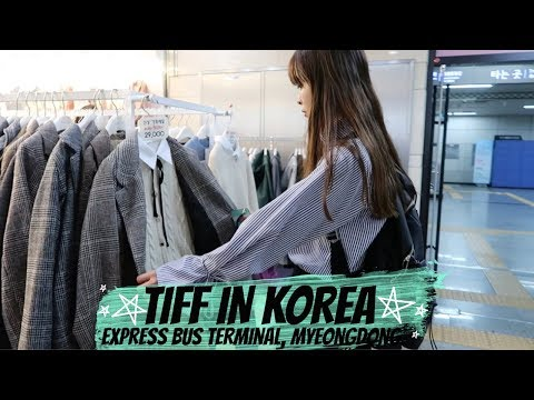 🇰🇷 TIFF GOES TO KOREA EP 8 I Back to Seoul, Express Bus Terminal, Airbnb Tour in Myeongdong