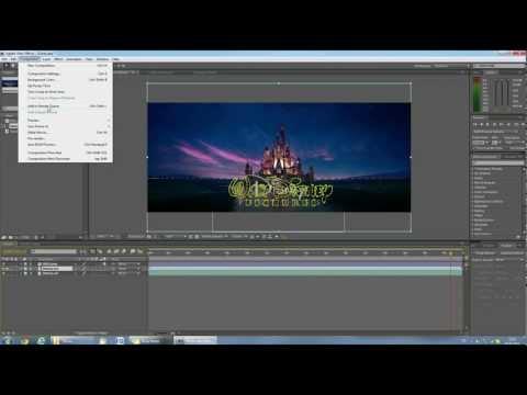 TUTORIAL: DISNEY Intro HD