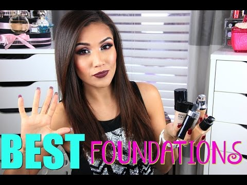 BEST 5 High End  Foundations for OILY Skin!  Medium/ Full Coverage