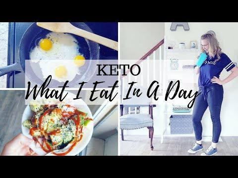 WHAT I EAT IN A DAY KETO w/ IF + Grocery Haul | Macros & Calories for Weight loss