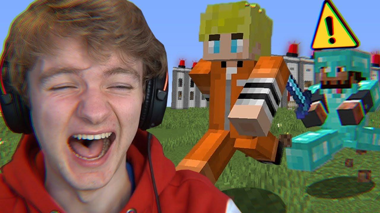 Surviving Minecraft's Funniest Prison...