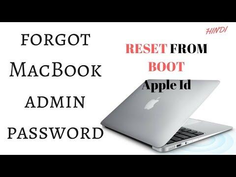 How to Reset macbook password using apple id | Reset macbook Admin Password | HINDI