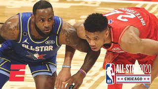 Team LeBron and Team Giannis put on a show in the All-Star Game | 2020 NBA All-Star Weekend