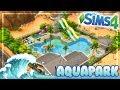 MR.OLKAN'S WATER PARK    The Sims 4 Speed Community Lot Build AquaPark