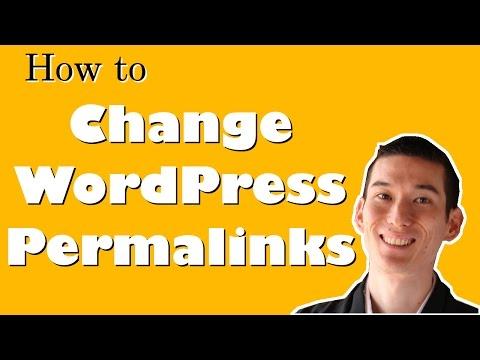 How to Change WordPress Permalinks to Be Purdy