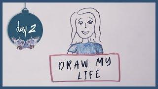 Draw My Life by Molly Kate Kestner | 12 days of MKK - Day 2