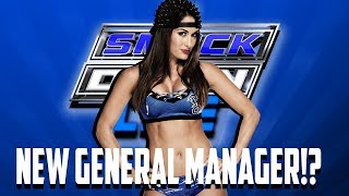 Nikki Bella Rumored To Become The New Smackdown Live General Manager!