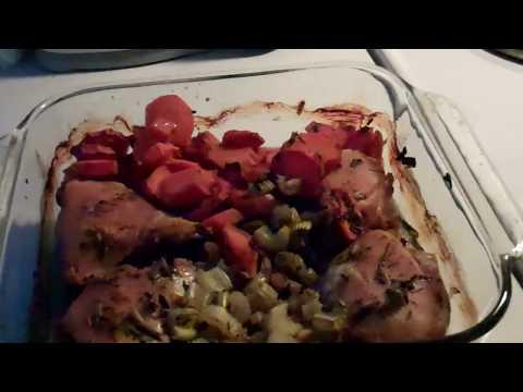 Easy One Dish Chicken Dinner