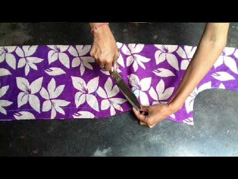 Ladies kameez cutting in easy way in hindi